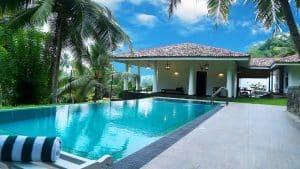 Manor House, Sri Lanka, Hôtel, Piscine, Maison Bleue