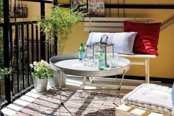 Idées de décoration pour petit balcon